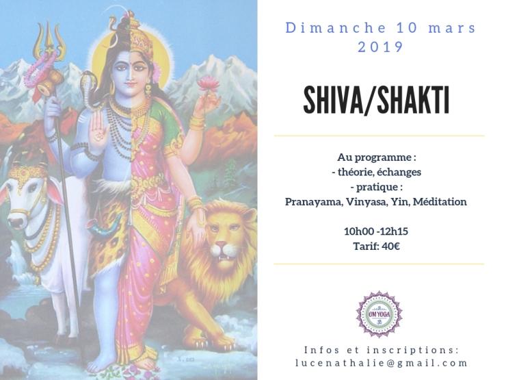 Shiva:Shakti